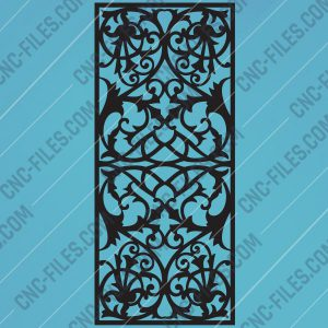 Pattern panel screen Design files - EPS AI SVG DXF CDR R00136