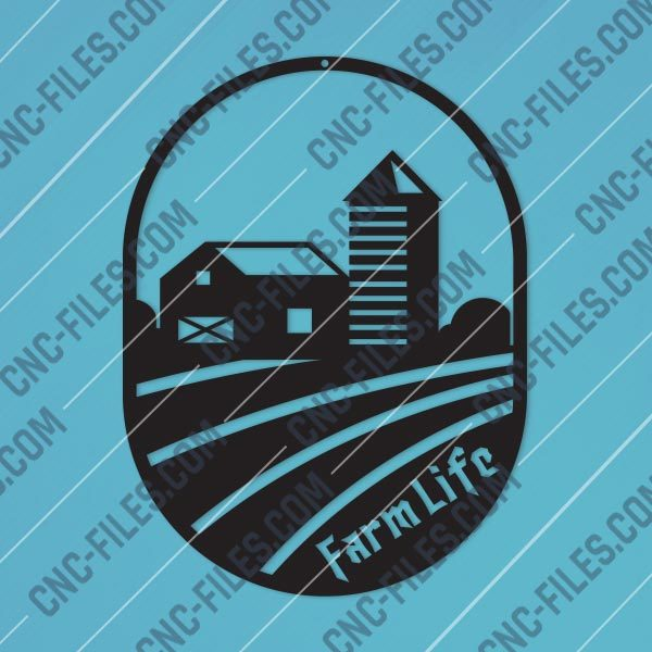 Farme Life Design files - DXF SVG EPS AI CDR