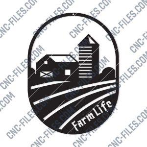 Farme Life Design files - DXF SVG EPS AI CDR
