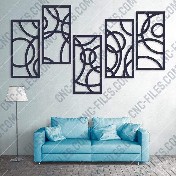 Wall Frames Decorative Vector Design files - DXF SVG EPS AI CDR